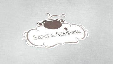 Identidade visual – Santa Sopinha